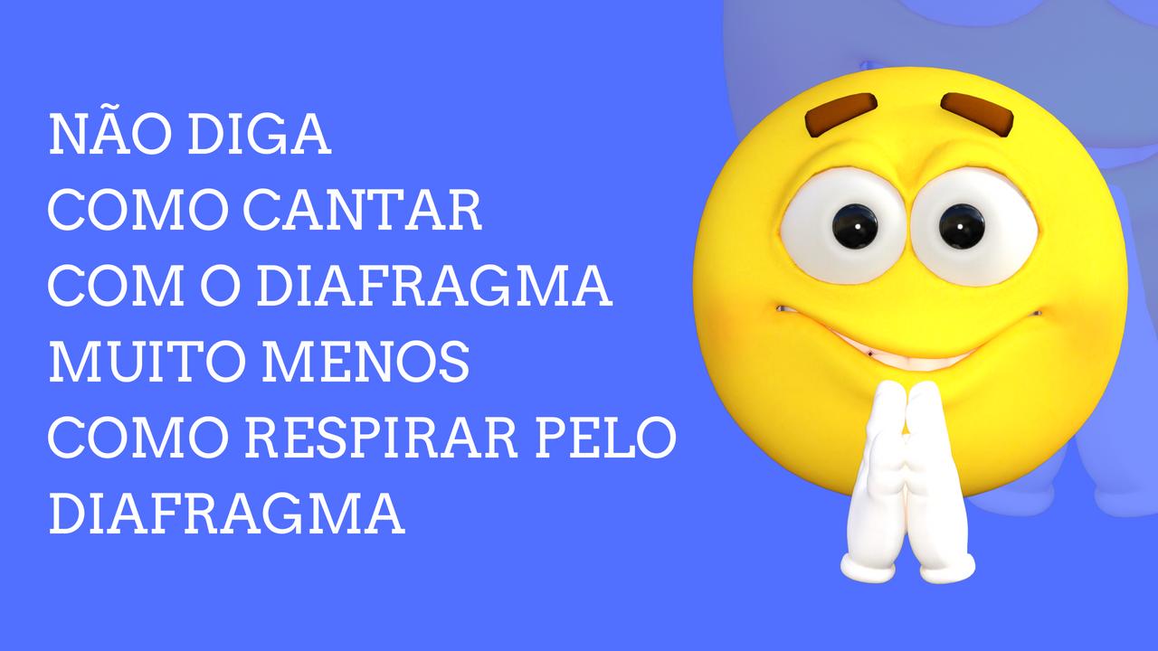 Cantar com o Diafragma